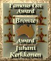 The famous OZZ Bronze Award