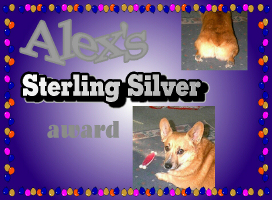 Alex's Sterling Silver Award