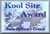 Kool Site Award of Colleen's Corner
