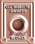 CLL Website Awards Bronze