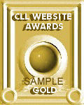 CLL Website Awards Gold