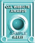 CLL Website Awards Merit