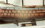 A scale model of Wasa ship
