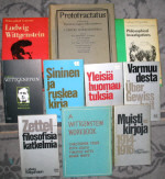 A collection of Wittgenstein's books